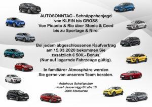 Abgesagt - Autosonntag 2020