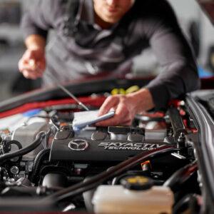 Mazda Frühjahrs-Check bei Schallgruber
